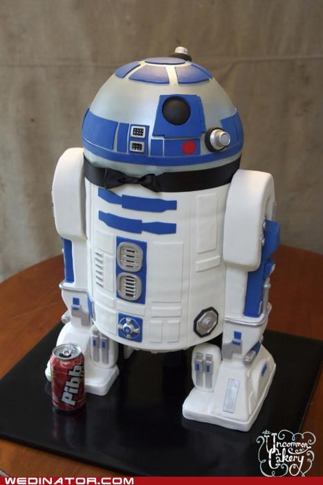 funny wedding photos star wars wedding cakes