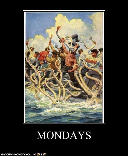 art color demotivational funny monster painting - 4960289024