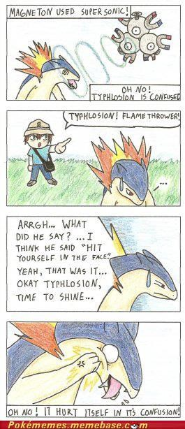 comic confusion hit magneton typhlosion - 4960557568