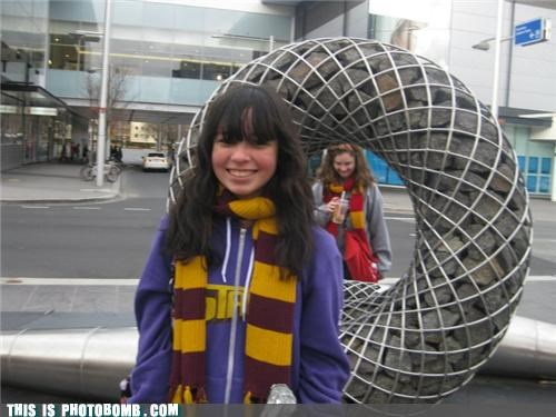 Awkward gryffindor Harry Potter scarves