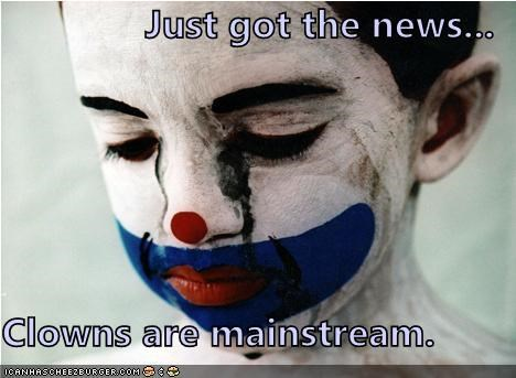 clown mainstream Sad weird kid - 4960829696