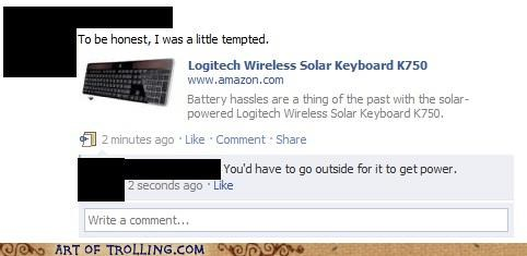 facebook FAIL gamer keyboard solar - 4961531904