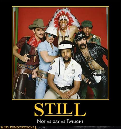 gay Hall of Fame hilarious twilight village people - 4961988352
