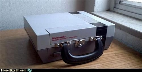 attache,nintendo,suitcase