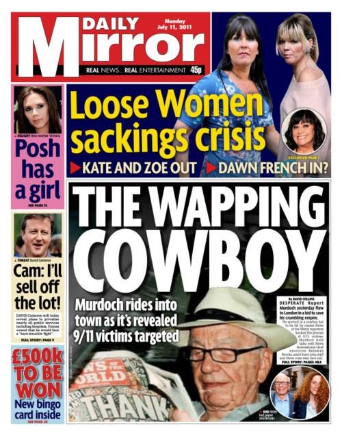 911 Follow Up Milly Dowler News of the World Phone Hacking Affair Rupert Murdoch - 4962222080