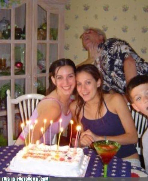 birthday cake elderbomb grandma - 4962320896