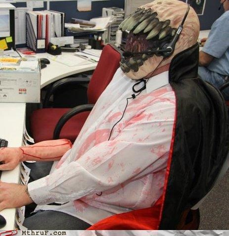 costume tech support zombie
