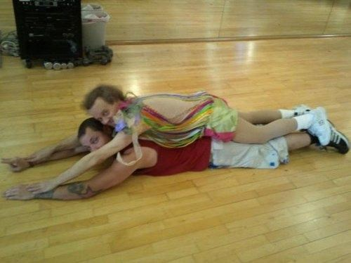 Celebrity Planking Planking richard simmons - 4962637824