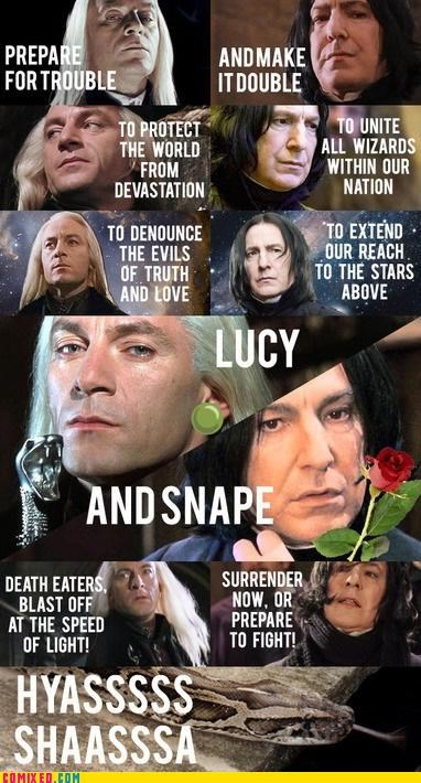 Harry Potter,Lucius Malfoy,Pokémon,snape,Team Rocket