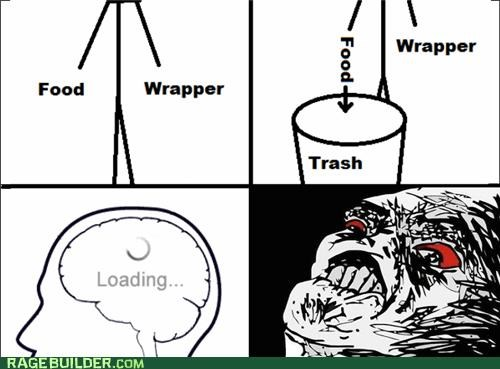 FAIL,food,loading,Rage Comics,wrapper