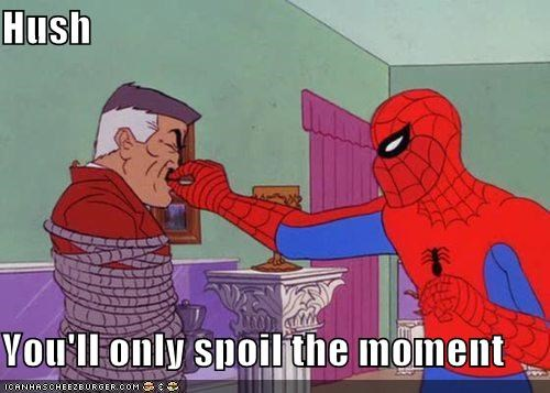 hush,jonah jameson,Music,Spider-Man,Super-Lols