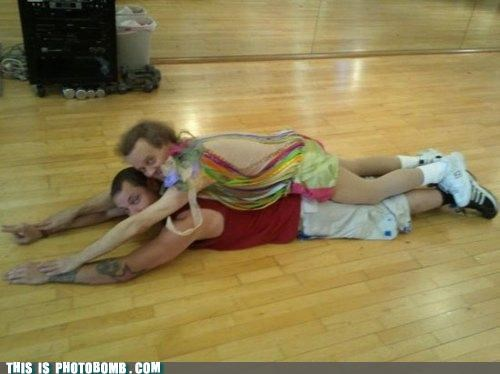 Richard Simmons Discovers Planking