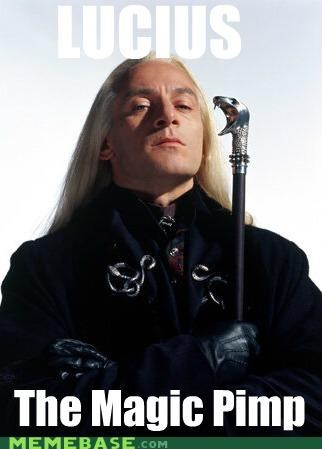Harry Potter,lucius,magic,Memes,pimp