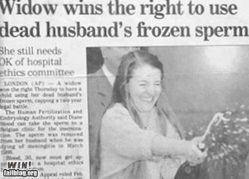 article,celebration,Completely Relevent News,newspaper,Photo,sperm