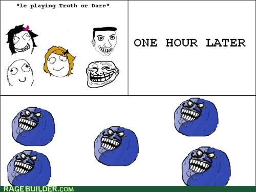 games i lied Rage Comics truth or dare