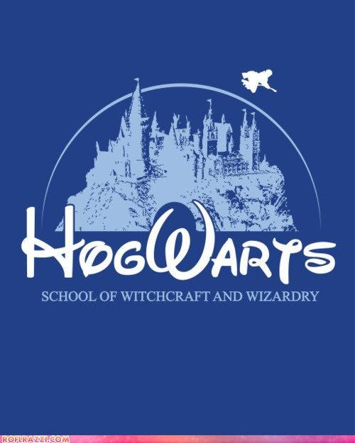 art cool disney Hall of Fame Harry Potter Hogwarts sci fi - 4962869248