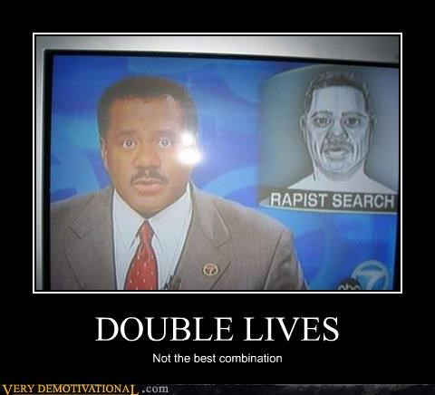 bad touch,double lives,hilarious,news
