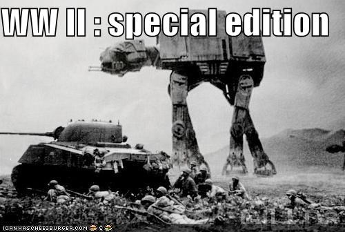 funny Photo shoop star wars war