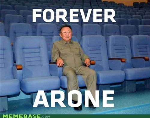 forever alone,Kim Jong-Il,korea,theater