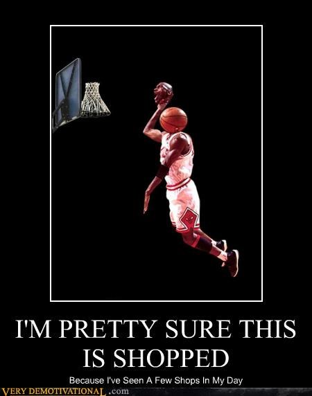 basketball hilarious michael jordan photoshop shopped - 4962965504