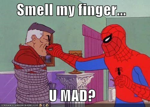 finger jonah smelly Spider-Man Super-Lols - 4963005696