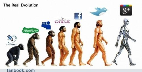 evolution friendster google live journal myspace social networking twitter - 4963356416