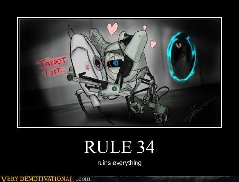 art hilarious portal 2 robots Rule 34 video games