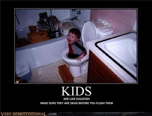 bad parents,flush,hilarious,kids,wtf