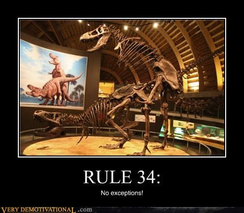 RULE 34: No exceptions!