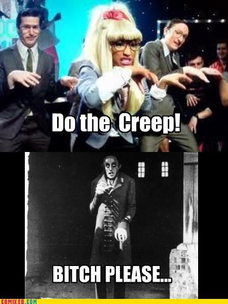 creep,Lonely Island,nicki minaj,the internets