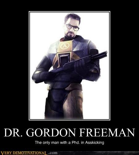 gordon freeman half life hilarious video games - 4964776448