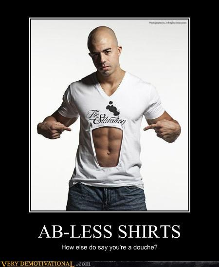 ab-less douche hilarious shirt wtf - 4964977920