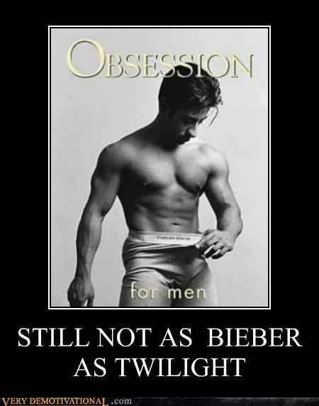 Bieber,calvin klein,hilarious,justin bieber,obsession,twilight