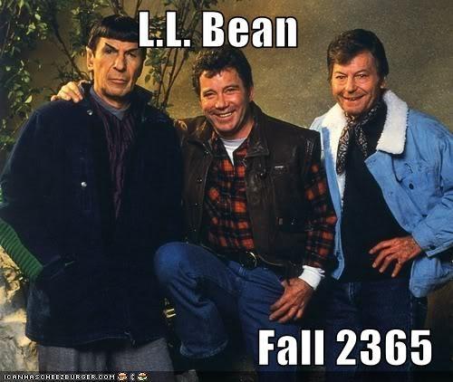 actor celeb DeForest Kelley funny Leonard Nimoy William Shatner - 4965208320
