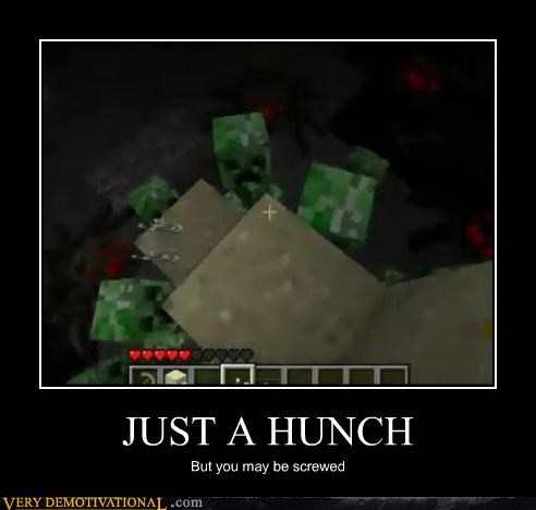 creepers,hilarious,minecraft,screwed,video games,wtf