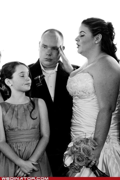 forehead funny wedding photos groom regret - 4965440256