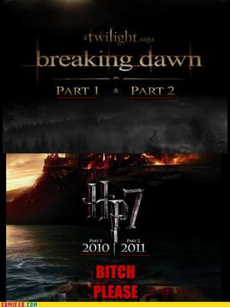 breaking dawn deathly hallows Harry Potter movie premiere part 2 twilight - 4965481984