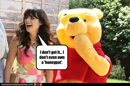 actor celeb funny zooey deschanel - 4965716736