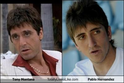 actors al pacino athletes footballer Hall of Fame Pablo Hernandez scarface soccer sports Tony Montana