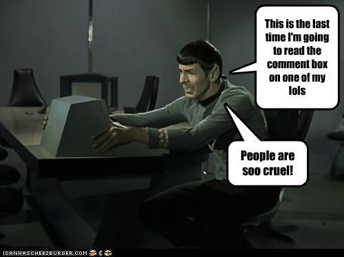 actor celeb funny Leonard Nimoy sci fi Star Trek - 4966098944
