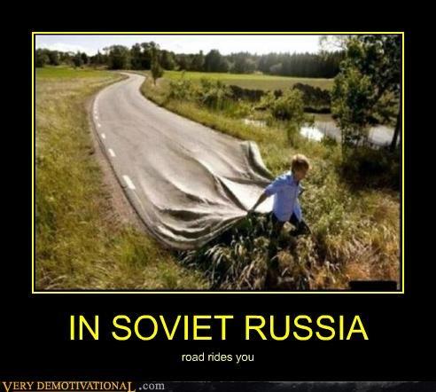 crazy hilarious road russia wtf - 4966262016