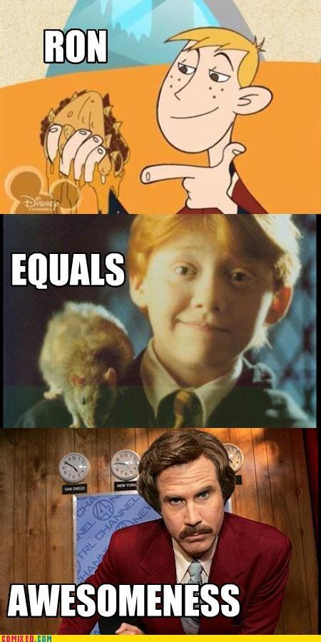 Harry Potter Ron Weasley - 4966464256
