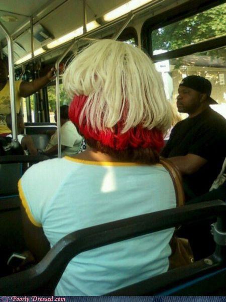 bus hair wig - 4966535936