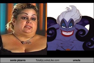 bad makeup Disney villain little mermaid operation repo pizarro Sonia ursula