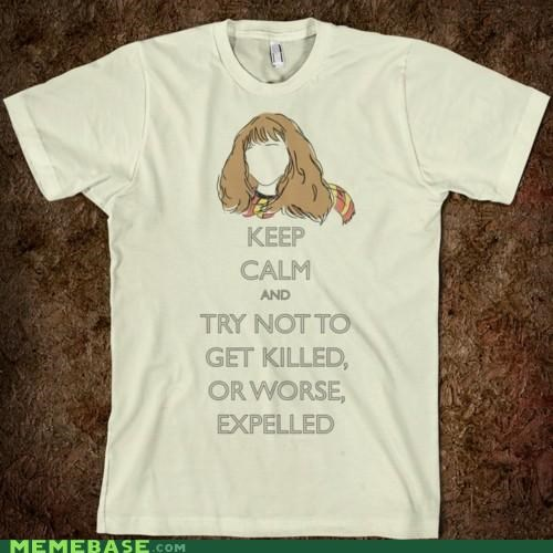 books,expelled,Harry Potter,keep calm,Memes,shirts