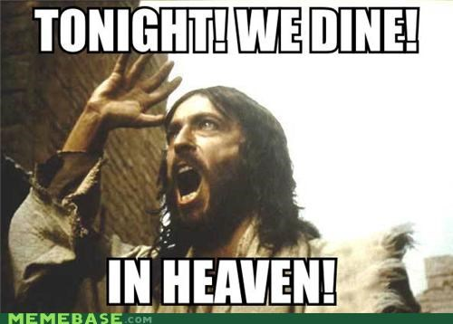 300,dine,heaven,jesus,LOL Jesus,movies,nazareth,sparta
