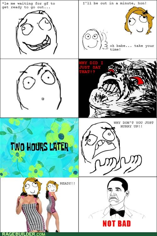 gf,hot,not bad,Rage Comics,waiting