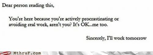 anonymous letter procrastination - 4966990336