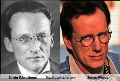 actors erwin schrodinger james woods paradox physicist physics schrodingers-cat - 4967189504