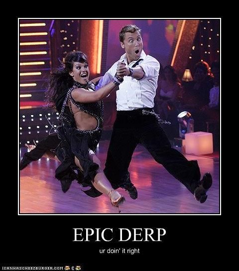 Dancing With The Stars demotivational funny TV